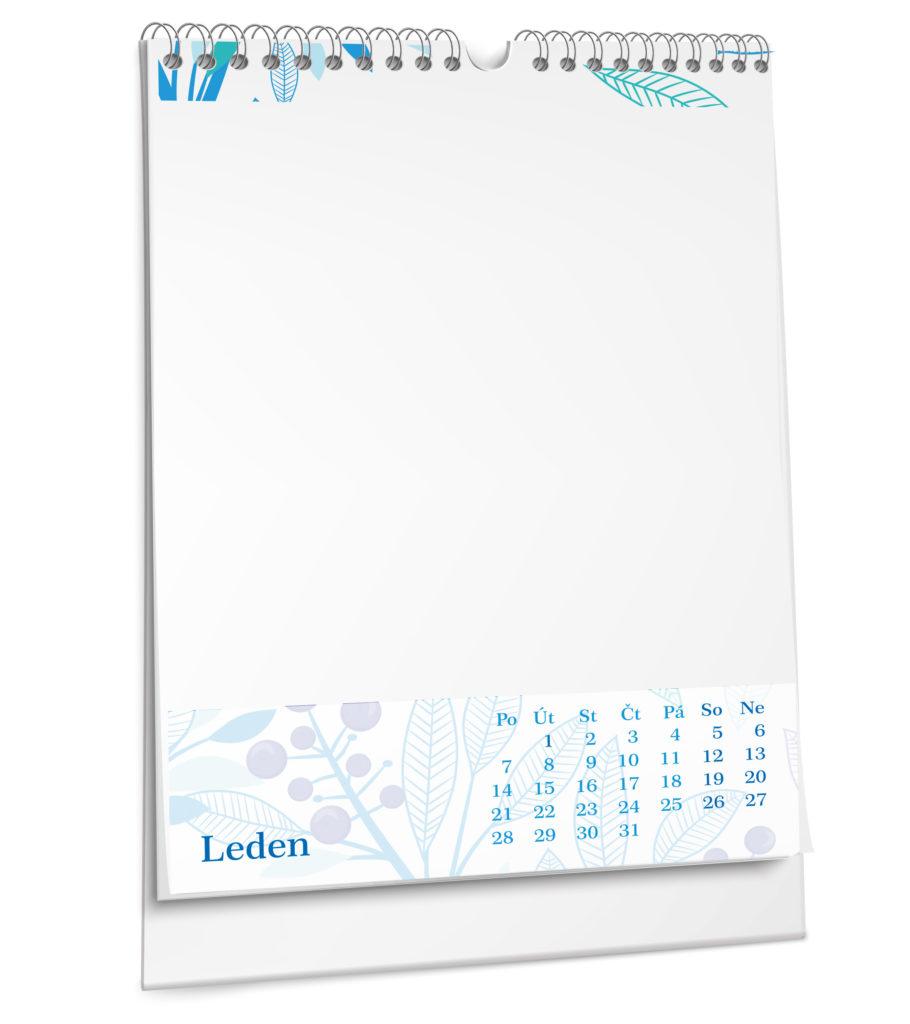 Tiskárna AKORD Chomutov - nástěnný kalendář bianco 2