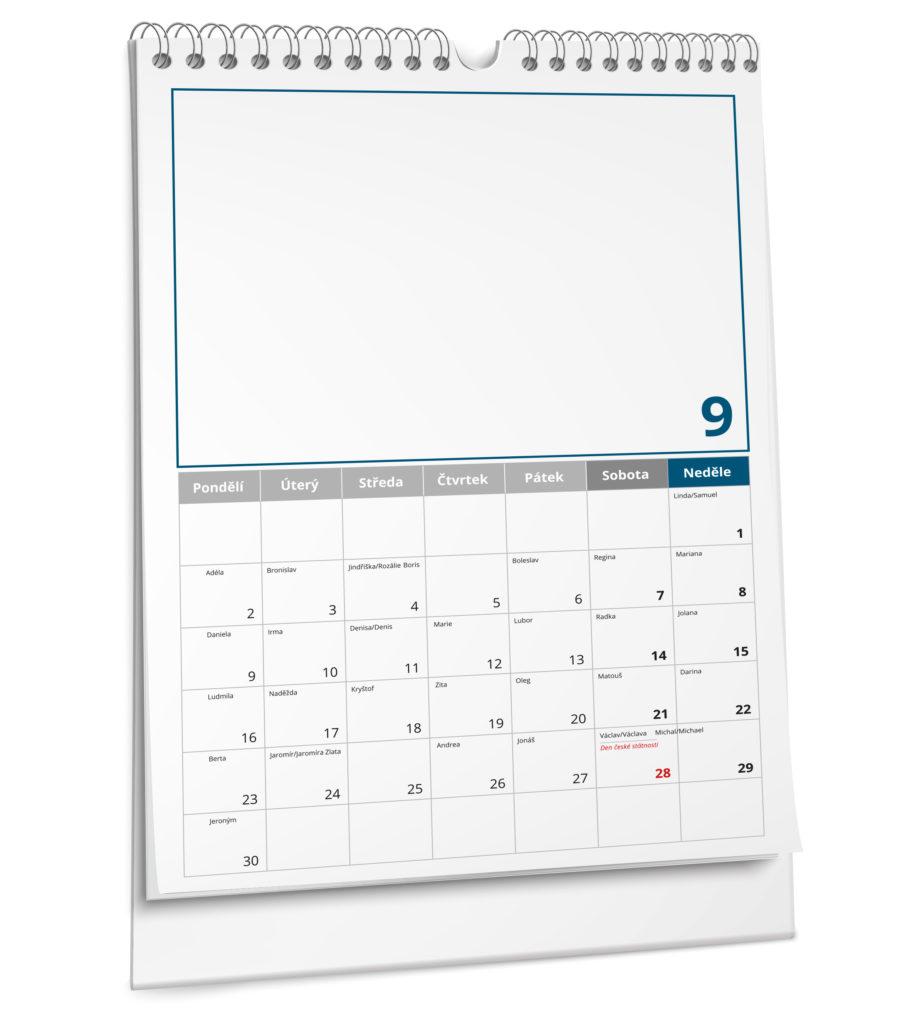 Tiskárna AKORD Chomutov - nástěnný kalendář bianco plánovací