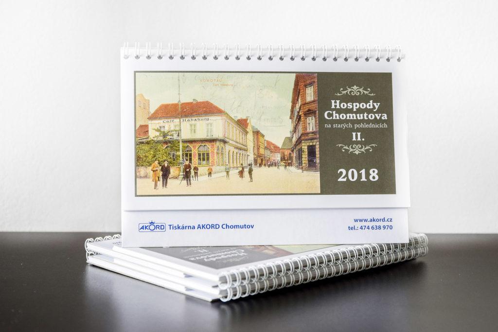 Tiskárna AKORD Chomutov - stolní týdenní kalendář