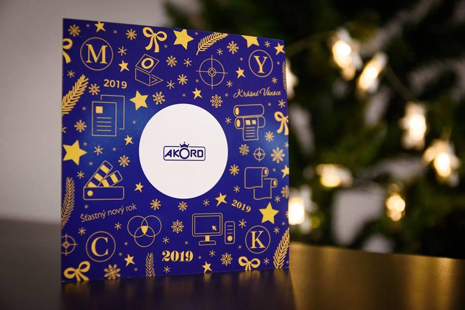Tiskárna AKORD Chomutov - Vánoční přání