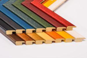Tiskárna AKORD Chomutov - barevné pestré rámy