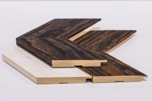 Tiskárna AKORD Chomutov - dřevěný rám