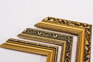 Tiskárna AKORD Chomutov - zlatý rám
